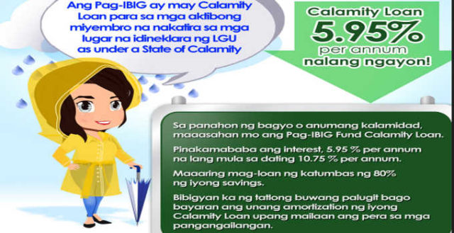 Apply Pag-Ibig Calamity Loan, Loan, Pag-Ibig Calamity Loan