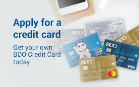bdo credit card application, bdo credit card, how to apply for bdo credit card