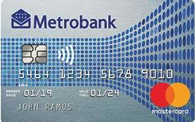 metrobank m free mastercard, no annual fee credit card for life, waived annual fee