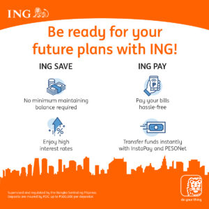 ING Savings Bank, App